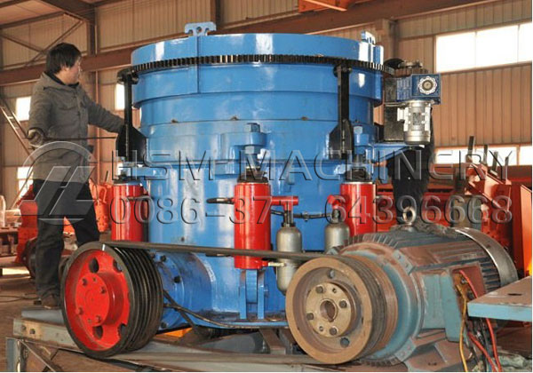 hydraulic cone crusher can withstand pressure This mechanical pressure is achieved by the two jaws of the crusher of which one is fixed while the other reciprocates multi-cylinder hydraulic cone crusher is mainly composed of main frame, eccentric shaft, crushing cone, mantle, bowl liner, adjusting device.